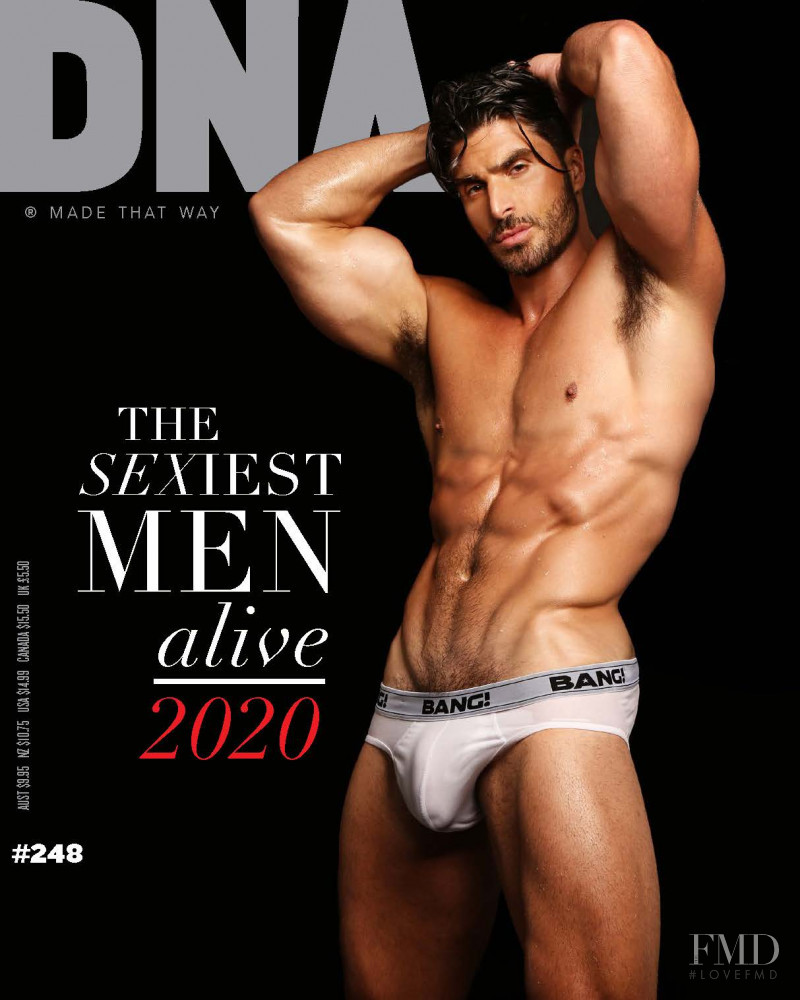 Leonel Ledesma featured on the DNA Australia cover from September 2020
