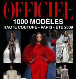 L\'Officiel 1000 Modele Haute Couture