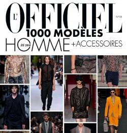 L\'Officiel 1000 Modele Hommes