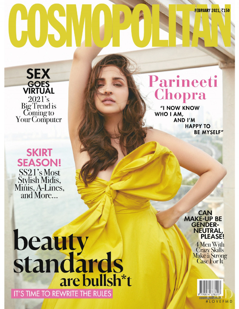 featured on the Cosmopolitan India cover from February 2021