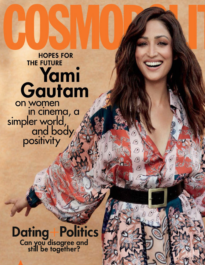 featured on the Cosmopolitan India cover from January 2021