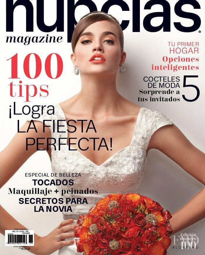 62dd6934e featured on the Nupcias Magazine cover from April 2013