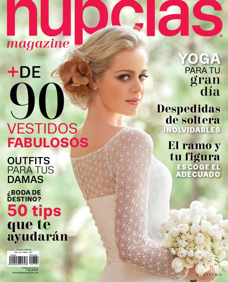 b3225e9e0 featured on the Nupcias Magazine cover from December 2013