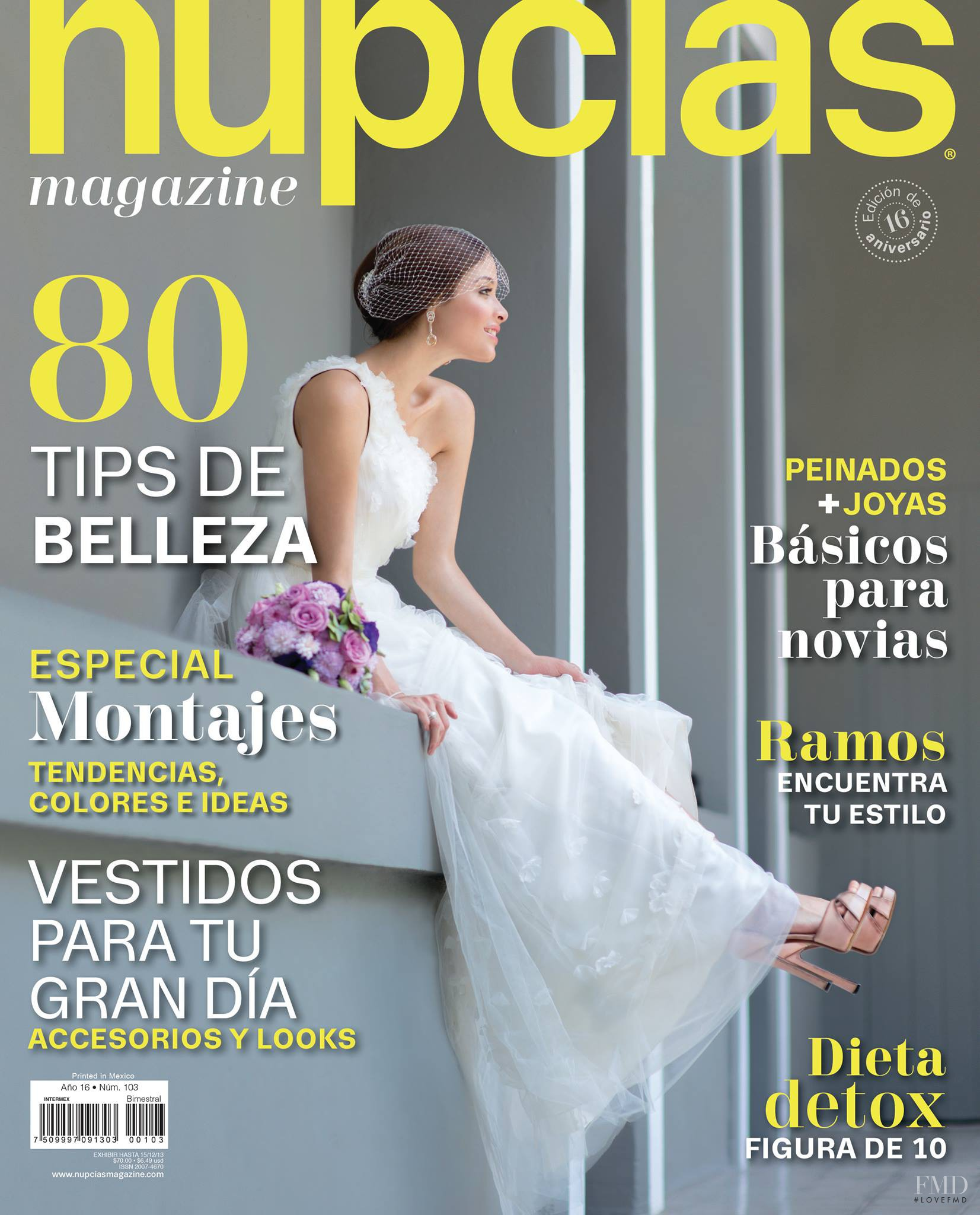 5847870e1 Cover of Nupcias Magazine