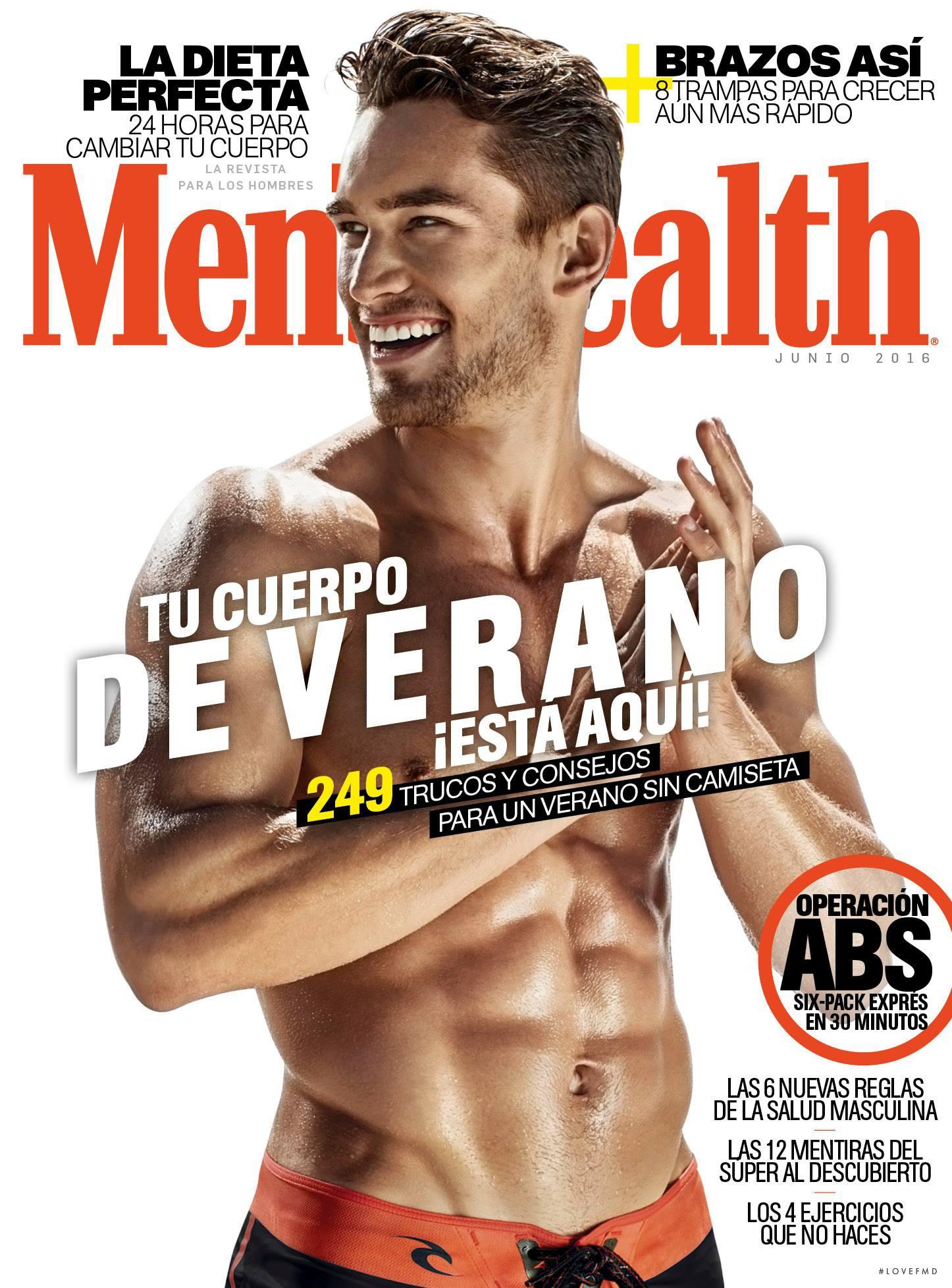 Mens Health Magazine President Barack Obama Instant Energy: Cover Of Men's Health Spain , June 2016 (ID:38950