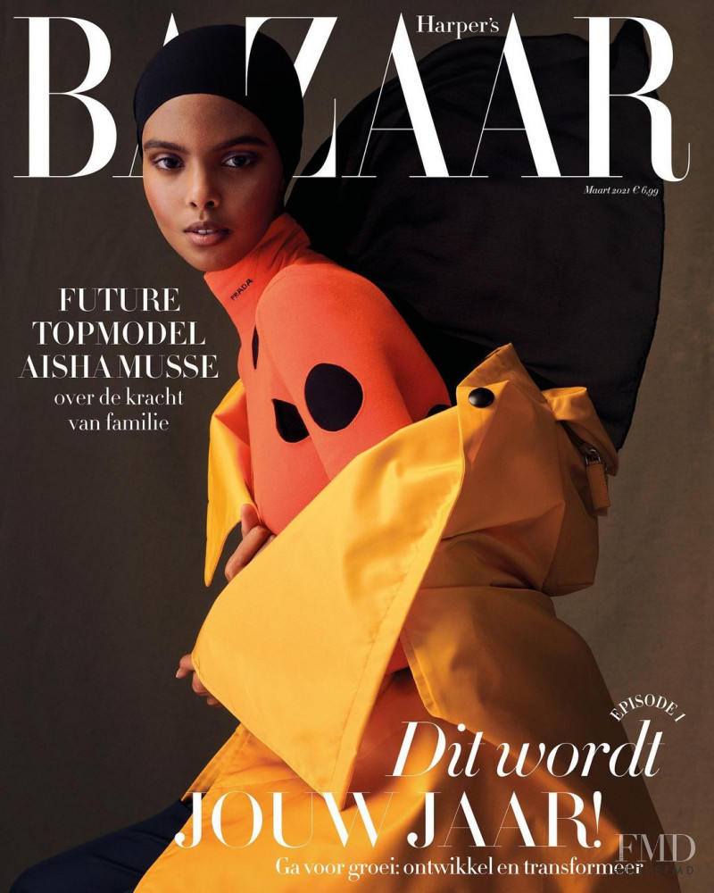 featured on the Harper\'s Bazaar Netherlands cover from March 2021