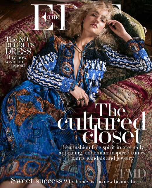 Maartje Verhoef featured on the The Edit cover from April 2017