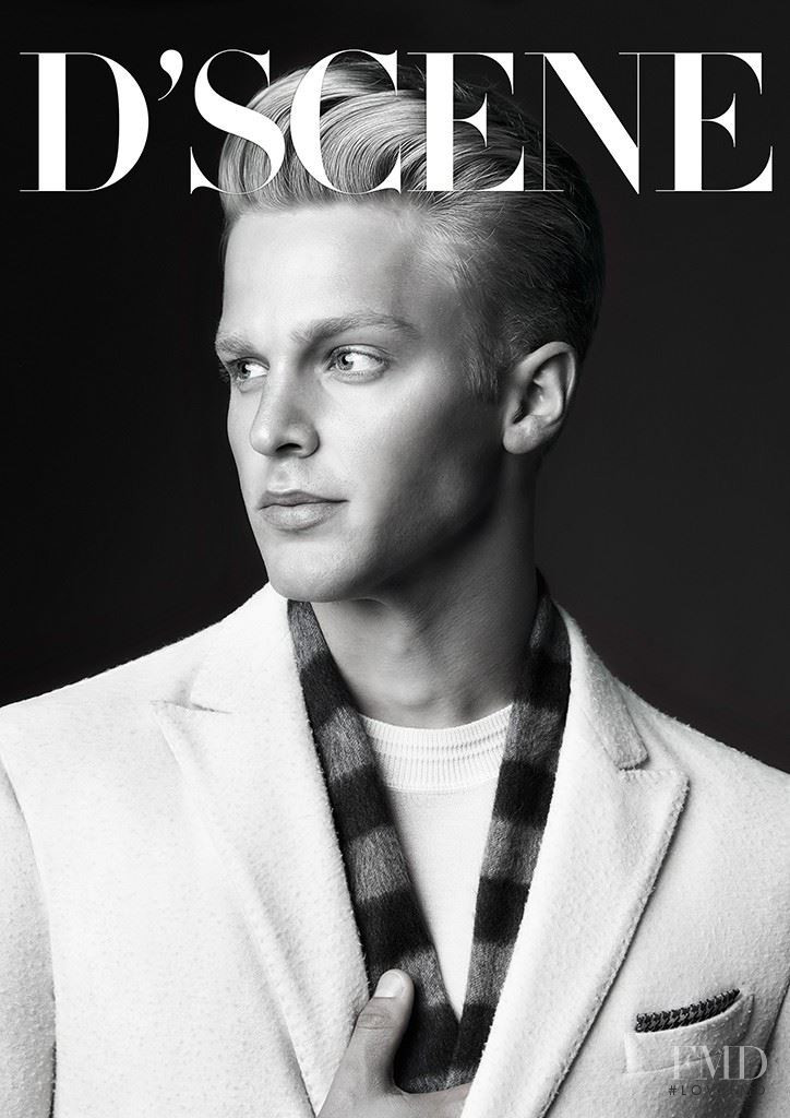 Clark Bockelman featured on the Design Scene cover from December 2015