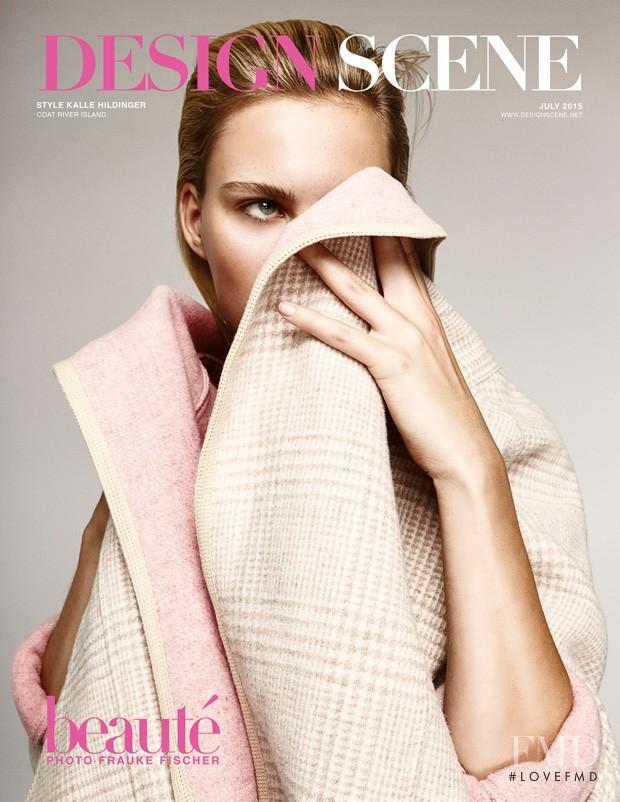 Julia Almendra featured on the Design Scene cover from July 2015