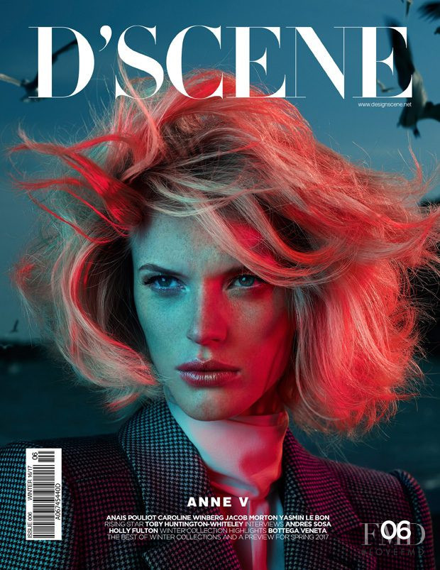 Anne Vyalitsyna featured on the Design Scene cover from December 2016