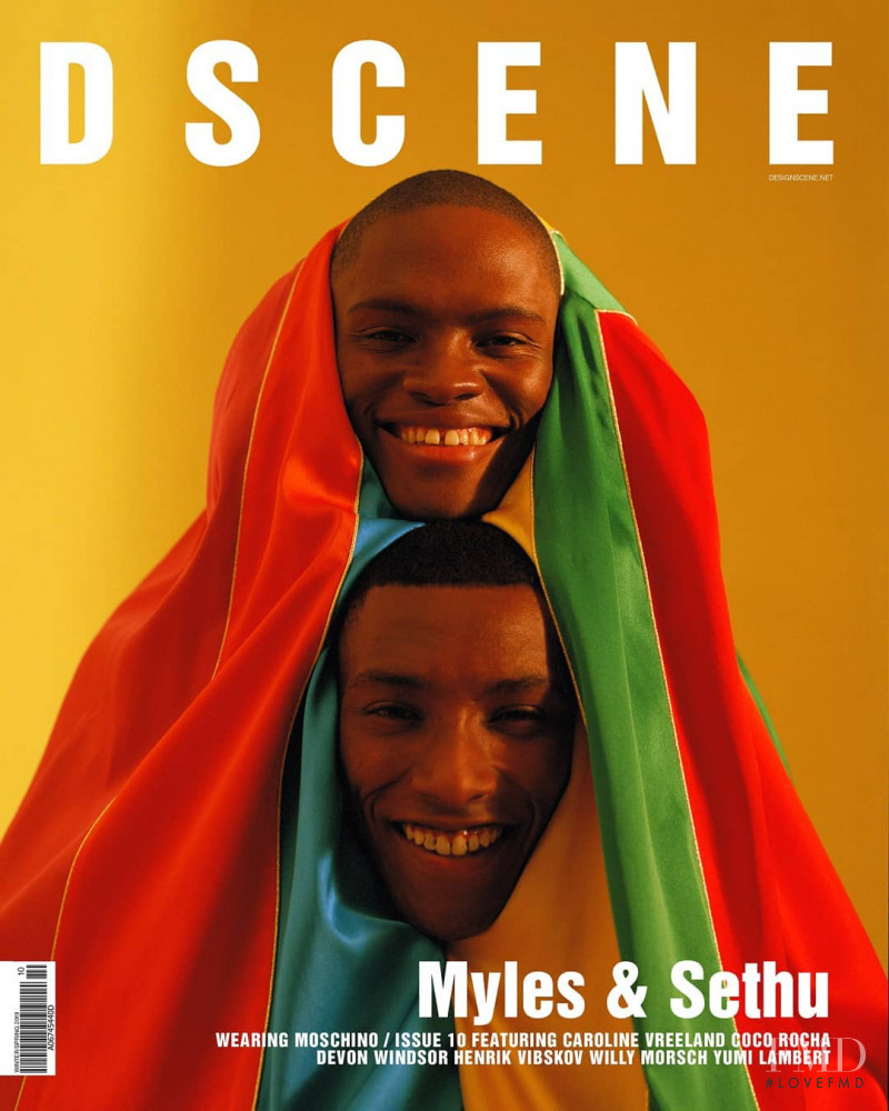Myles & Sethu  featured on the Design Scene cover from December 2018