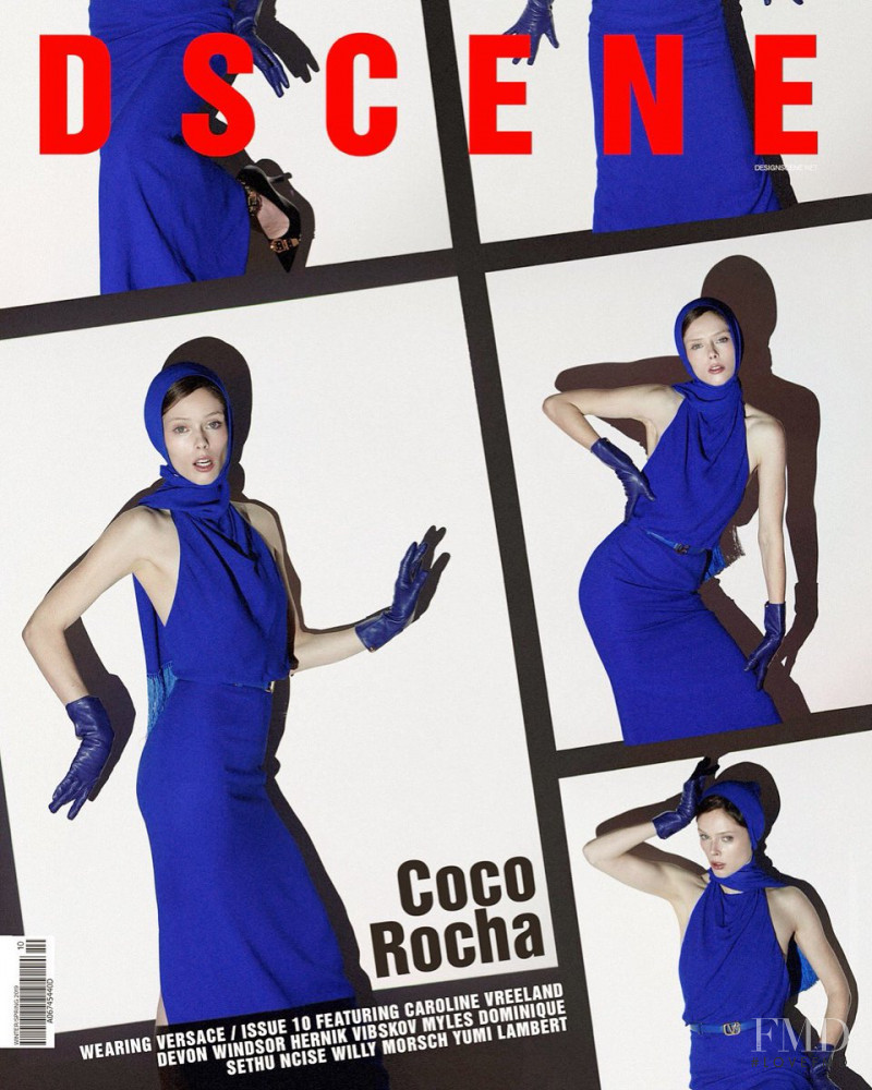 Coco Rocha featured on the Design Scene cover from December 2018