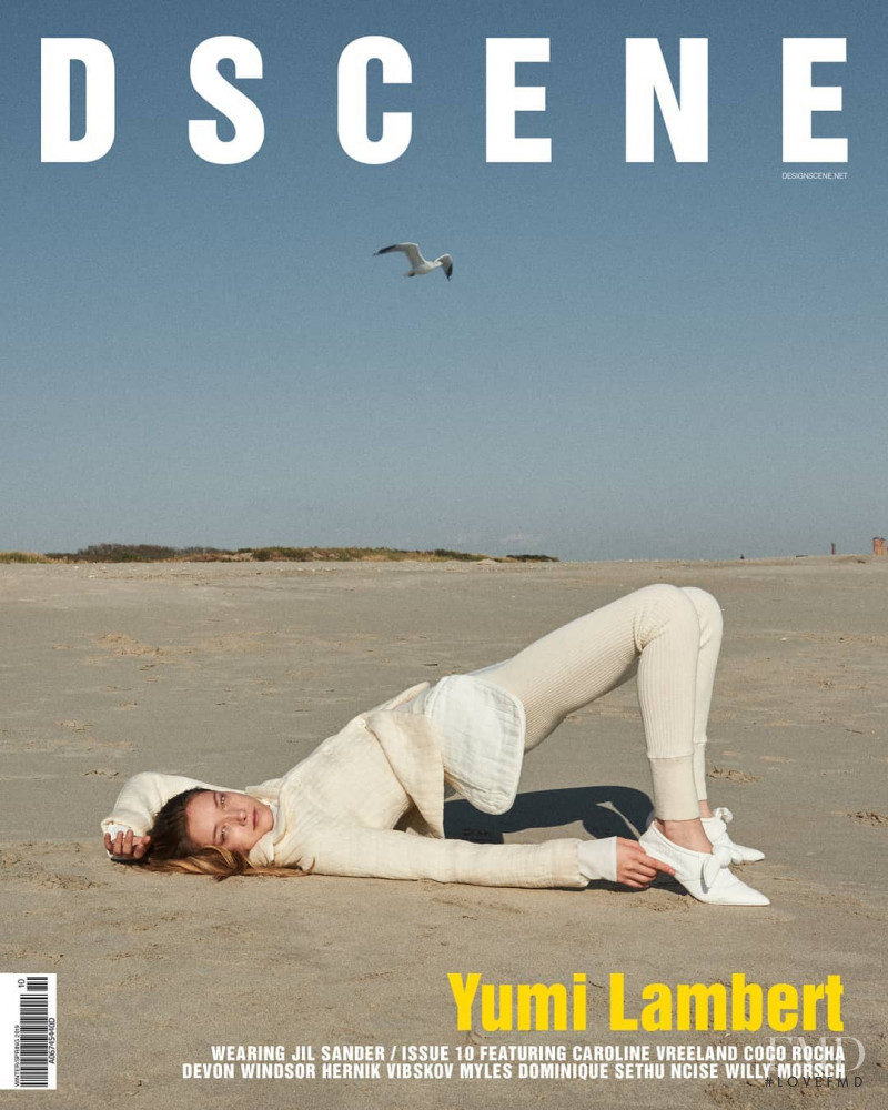 Yumi Lambert featured on the Design Scene cover from December 2018
