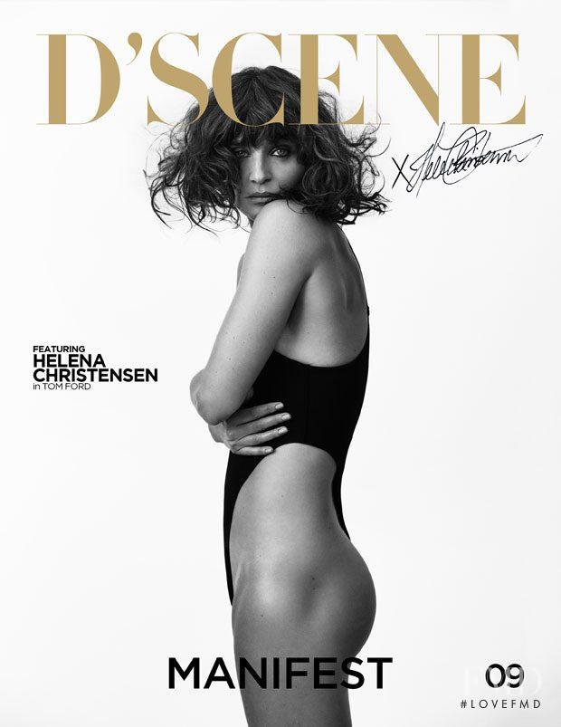 Helena Christensen featured on the Design Scene cover from September 2018