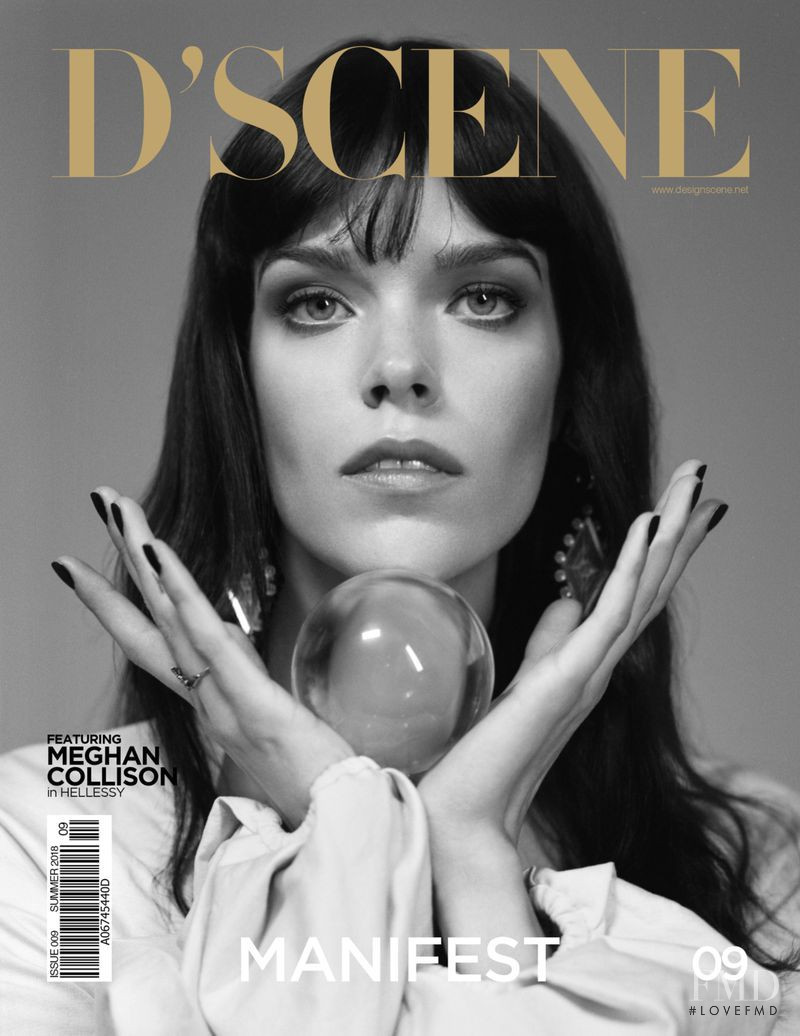 Meghan Collison featured on the Design Scene cover from September 2018