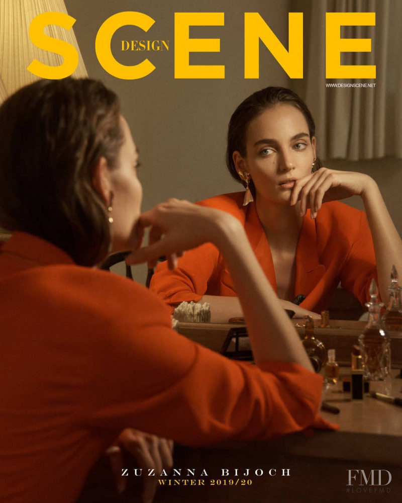 Zuzanna Bijoch featured on the Design Scene cover from December 2019