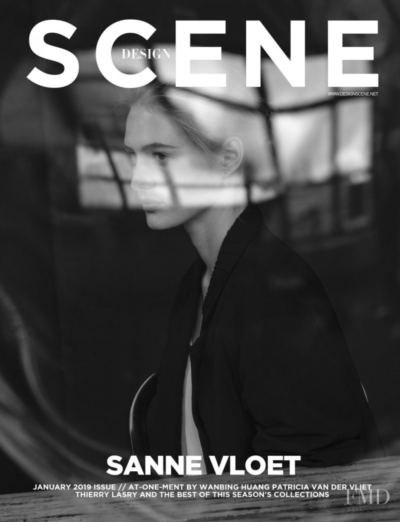 Sanne Vloet featured on the Design Scene cover from January 2019