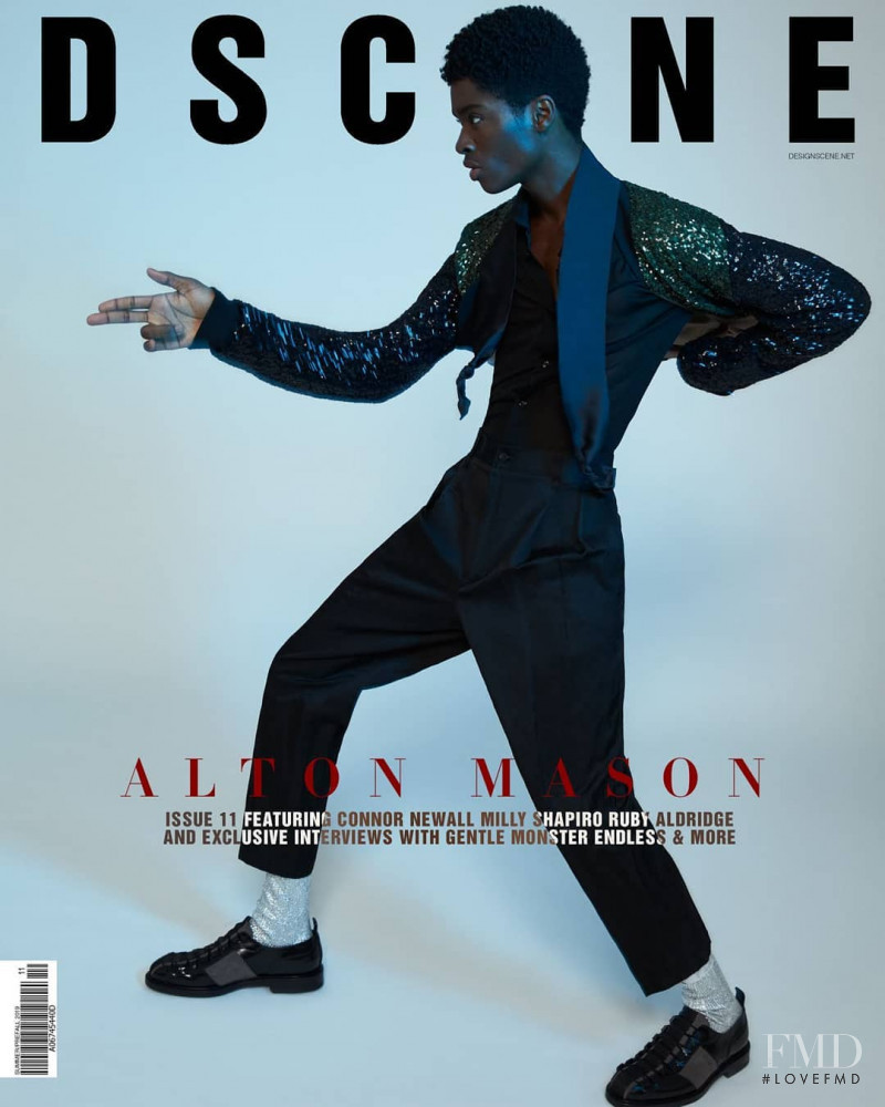 Alton Mason featured on the Design Scene cover from June 2019