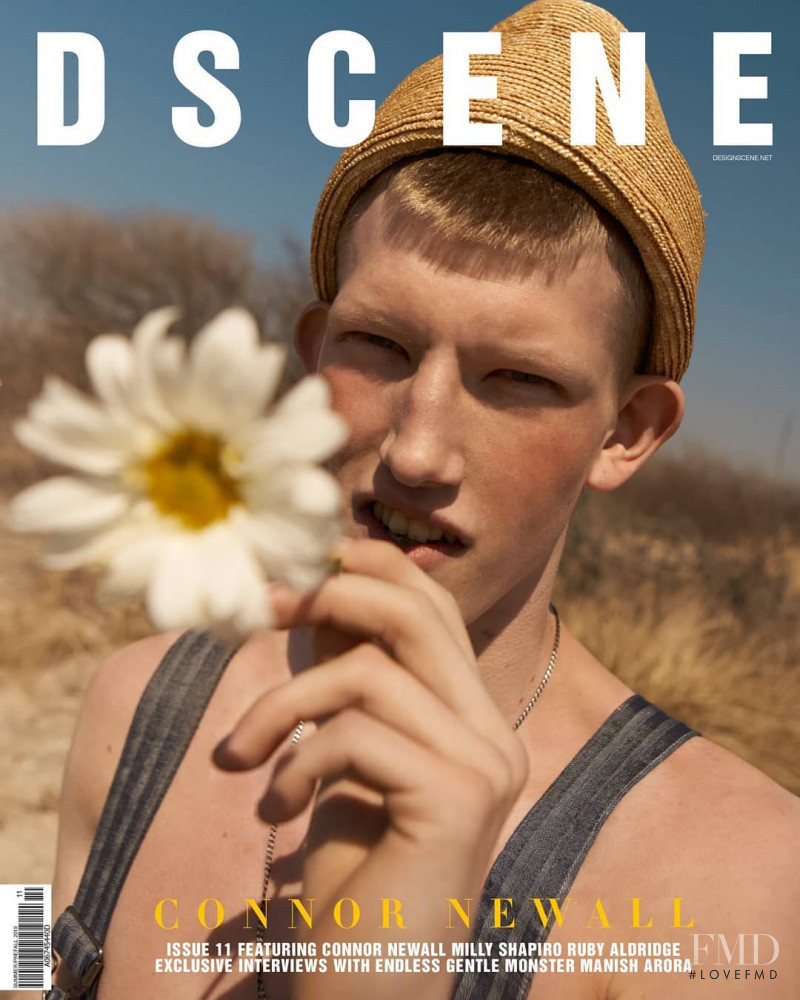 Connor Newall featured on the Design Scene cover from June 2019