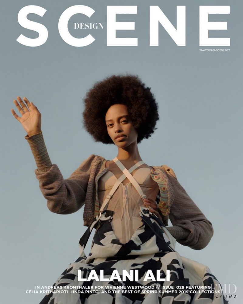 Lalani Ali featured on the Design Scene cover from March 2019