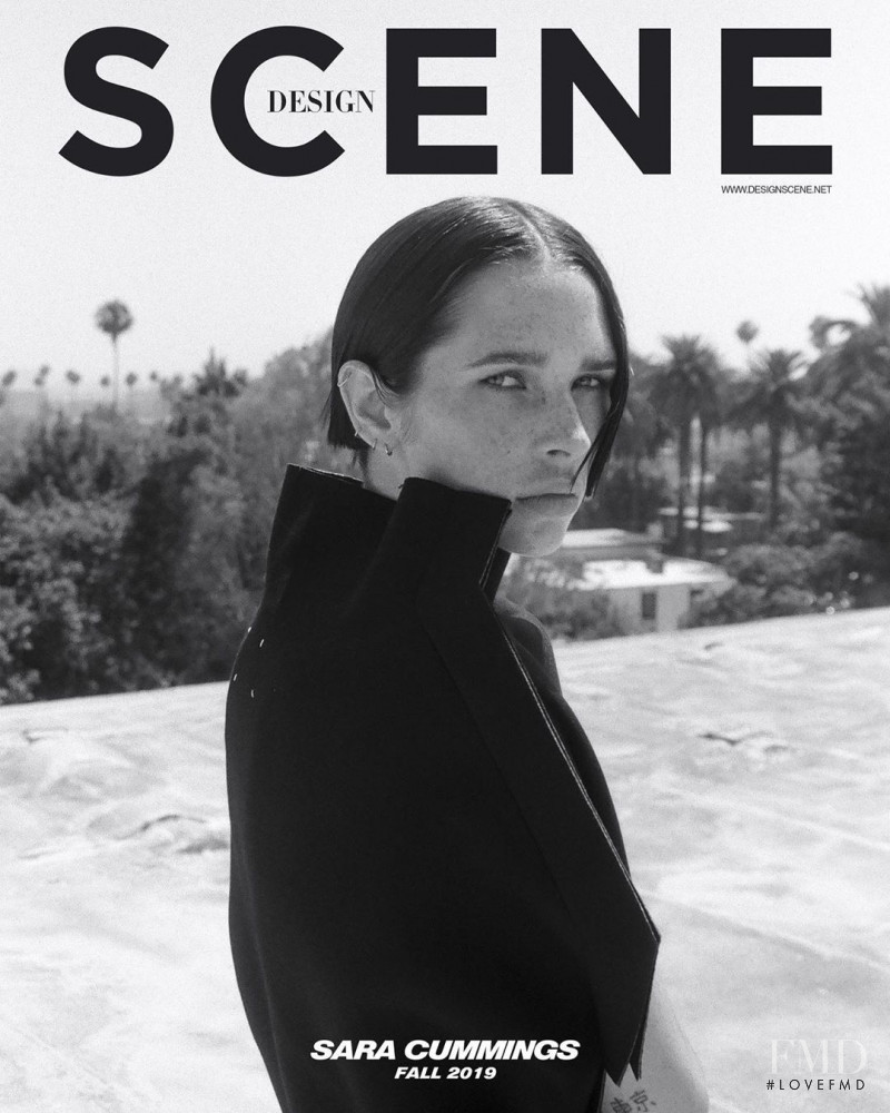 Sara Cummings featured on the Design Scene cover from October 2019