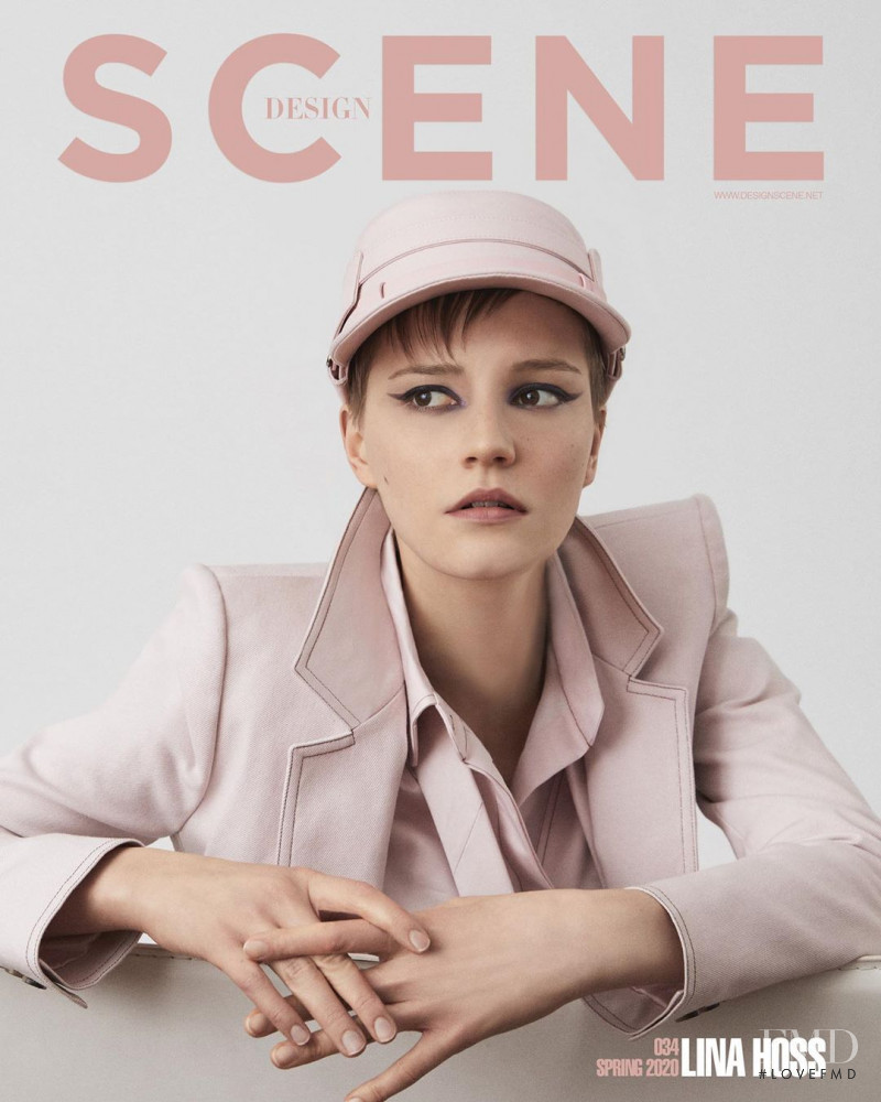 Lina Hoss featured on the Design Scene cover from March 2020