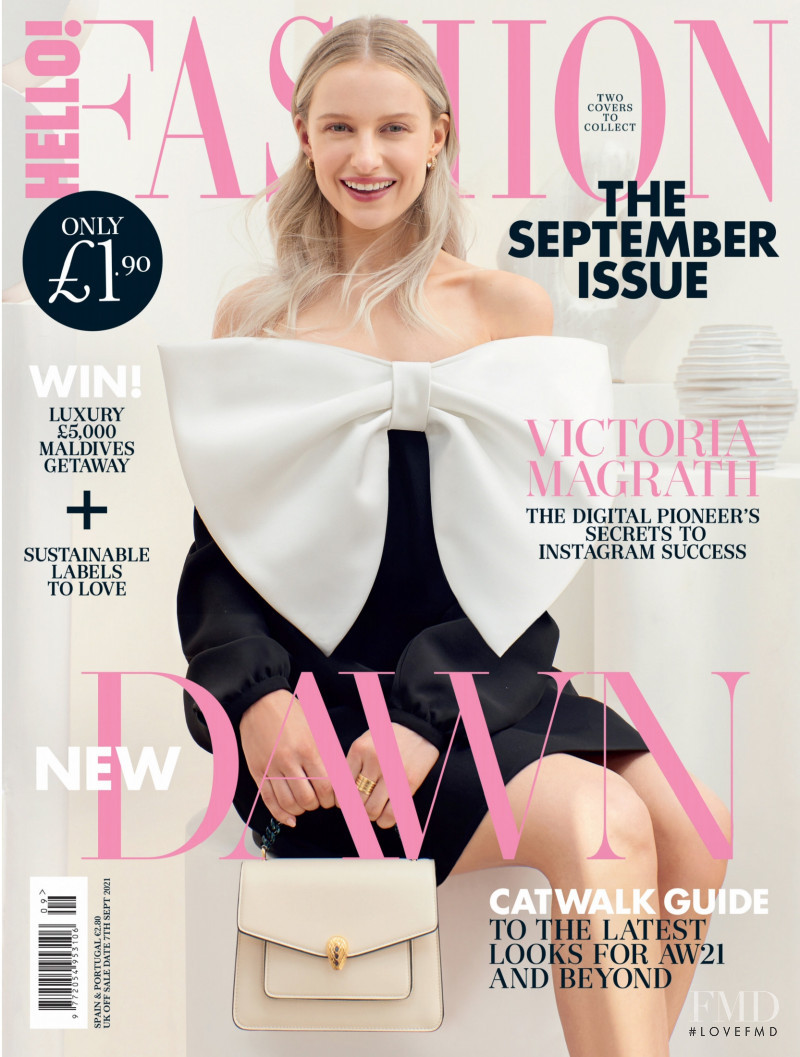 featured on the Hello Fashion cover from September 2021