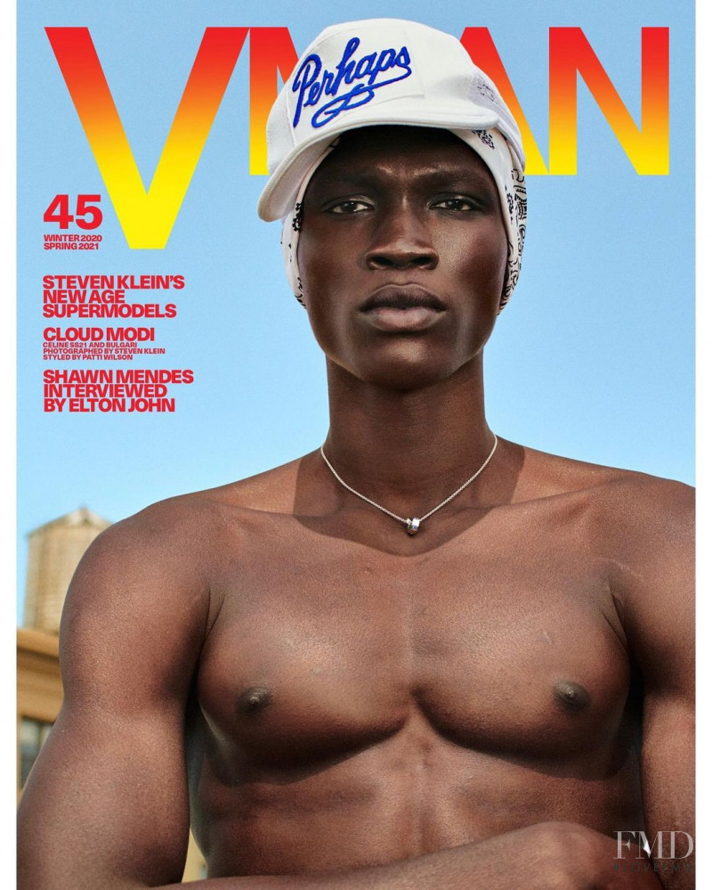 Cloud Modi featured on the V Man cover from December 2020
