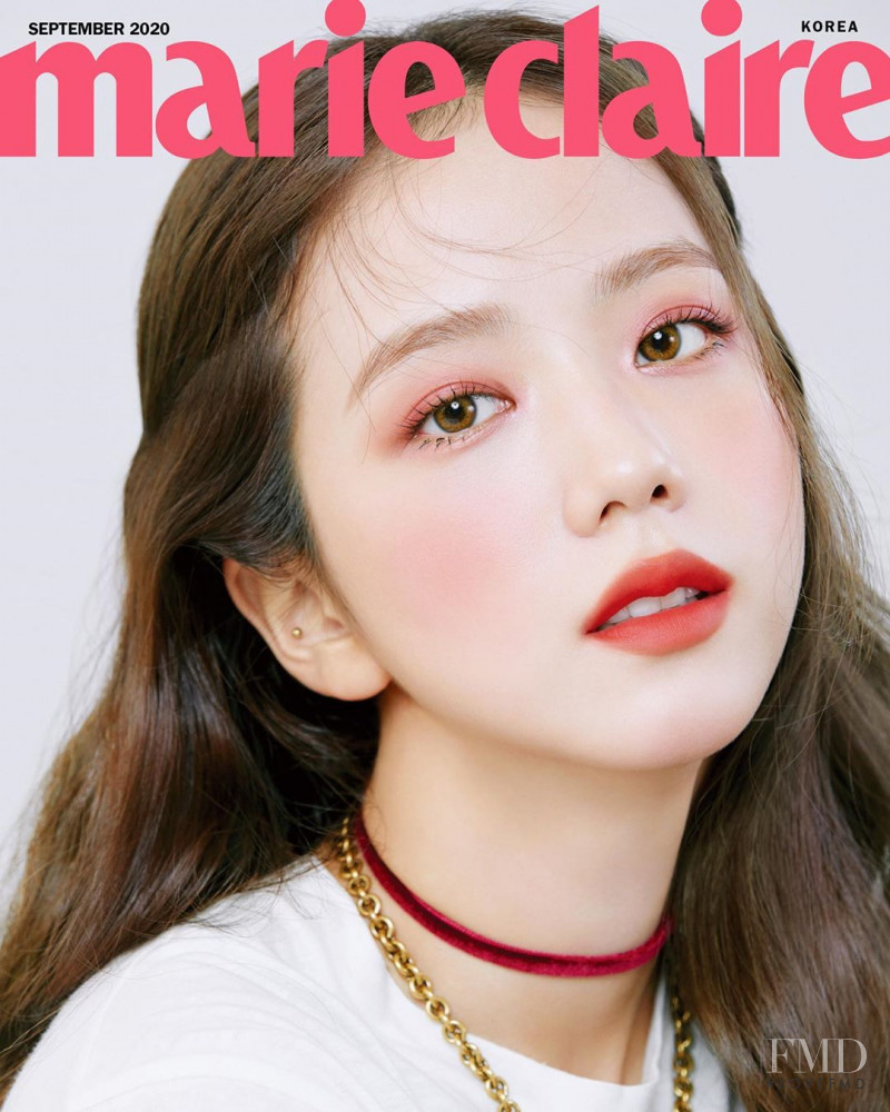 Jisoo featured on the Marie Claire Korea cover from September 2020