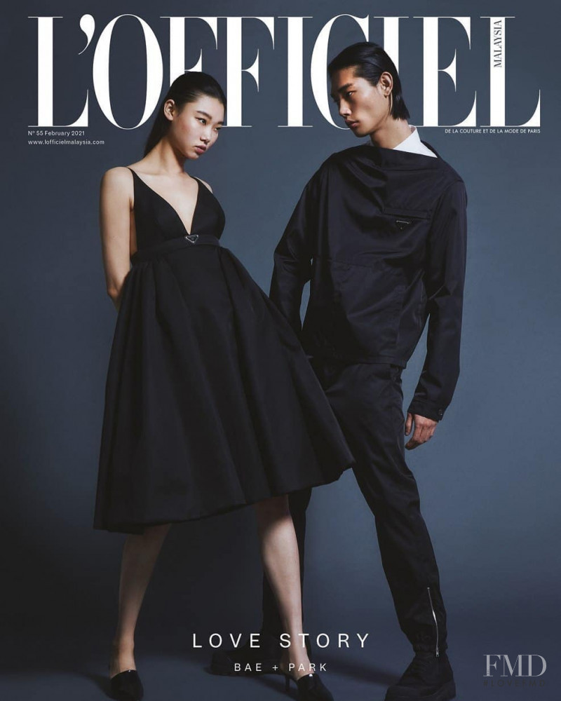 featured on the L\'Officiel Malaysia cover from February 2021