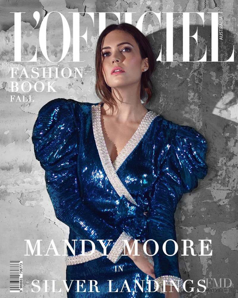 Mandy Moore featured on the L\'Officiel Australia cover from September 2020