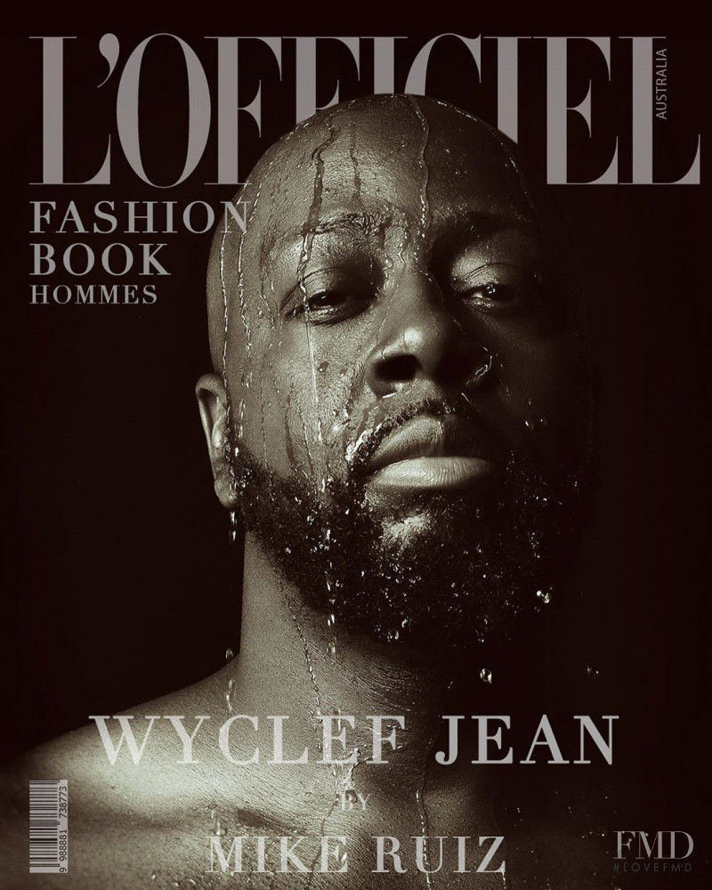 Wyclef Jean featured on the L\'Officiel Australia cover from September 2020