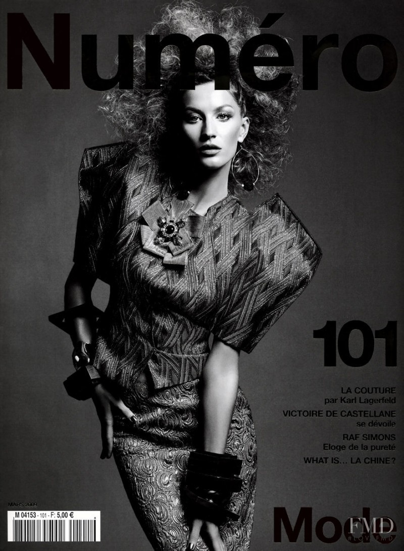 Gisele Bundchen featured on the Numéro France cover from March 2009