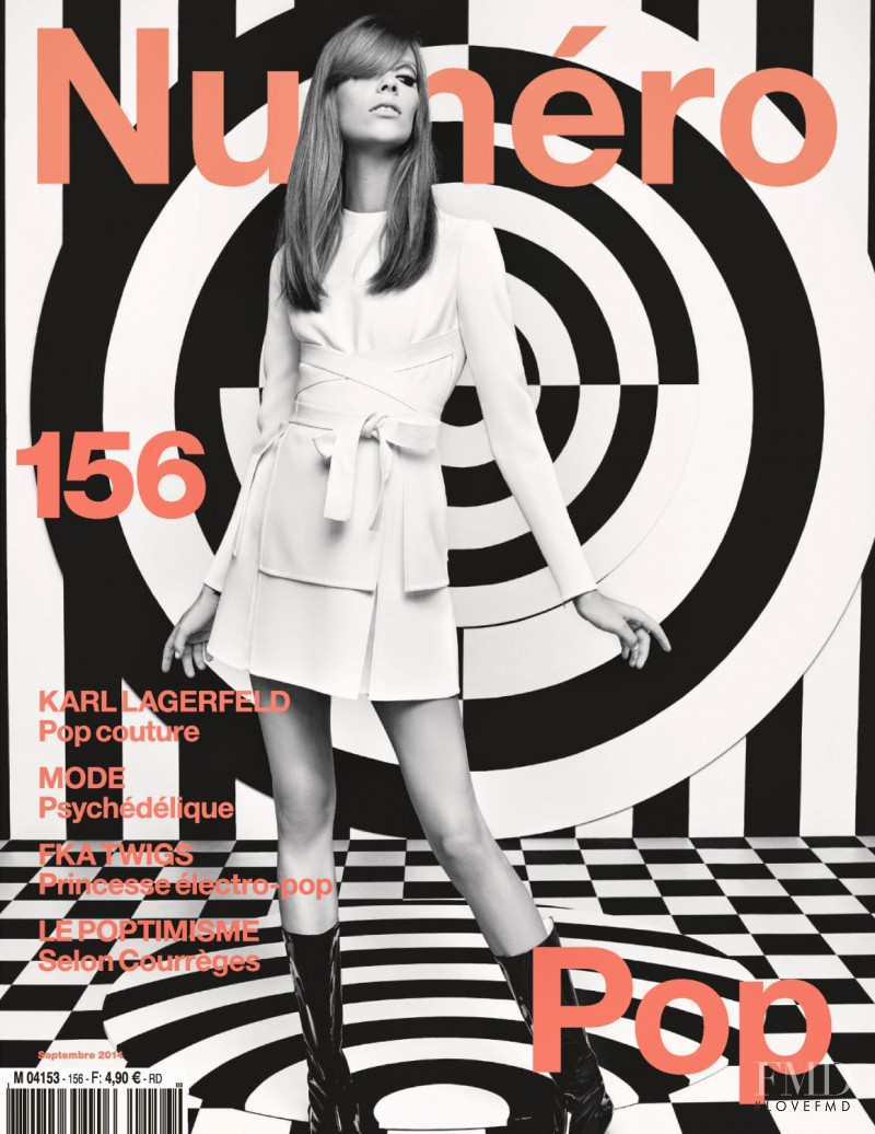 Lexi Boling featured on the Numéro France cover from September 2014