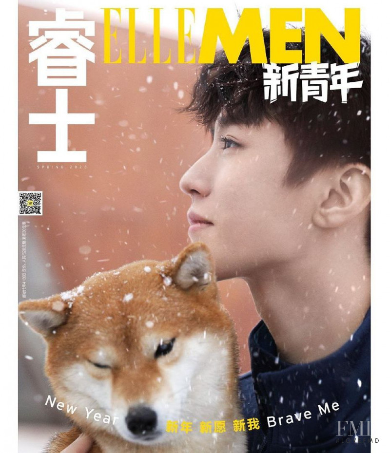 featured on the Elle Men China cover from March 2020