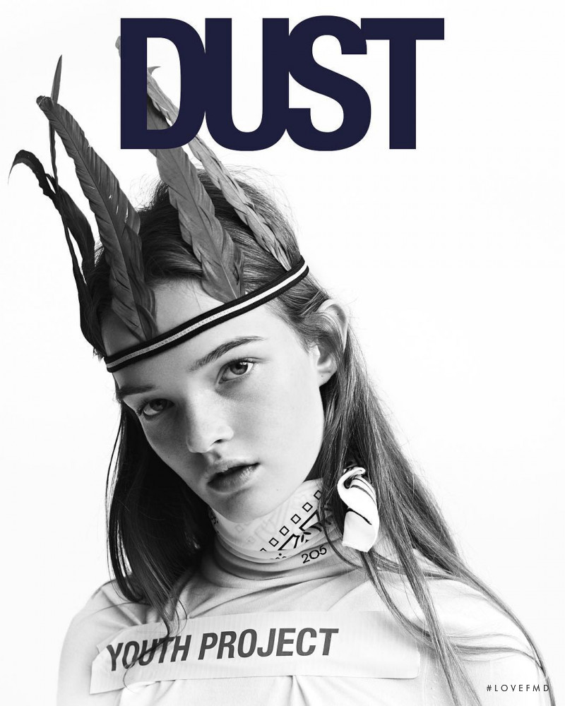 Lulu Tenney featured on the Dust cover from February 2017