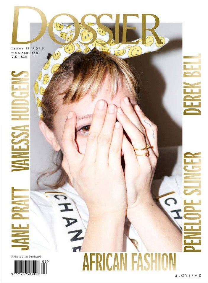 Annabelle Dexter-Jones featured on the Dossier Journal cover from March 2013