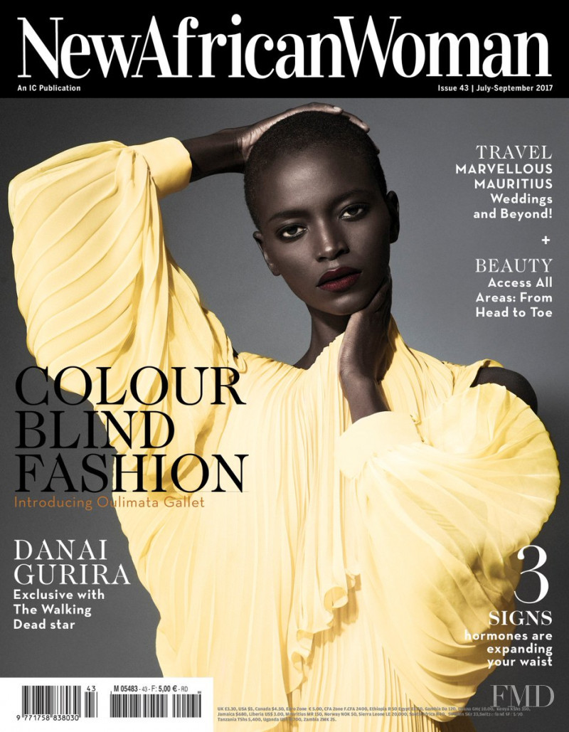 Oulimata Gallet featured on the New African Woman cover from July 2017