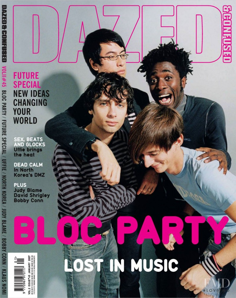featured on the Dazed & Confused cover from January 2007
