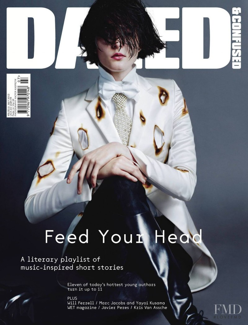 Zenia Sevastyanova featured on the Dazed & Confused cover from July 2012