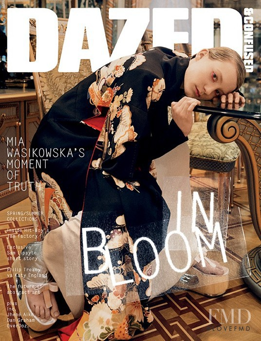 Mia Wasikowska featured on the Dazed & Confused cover from March 2013