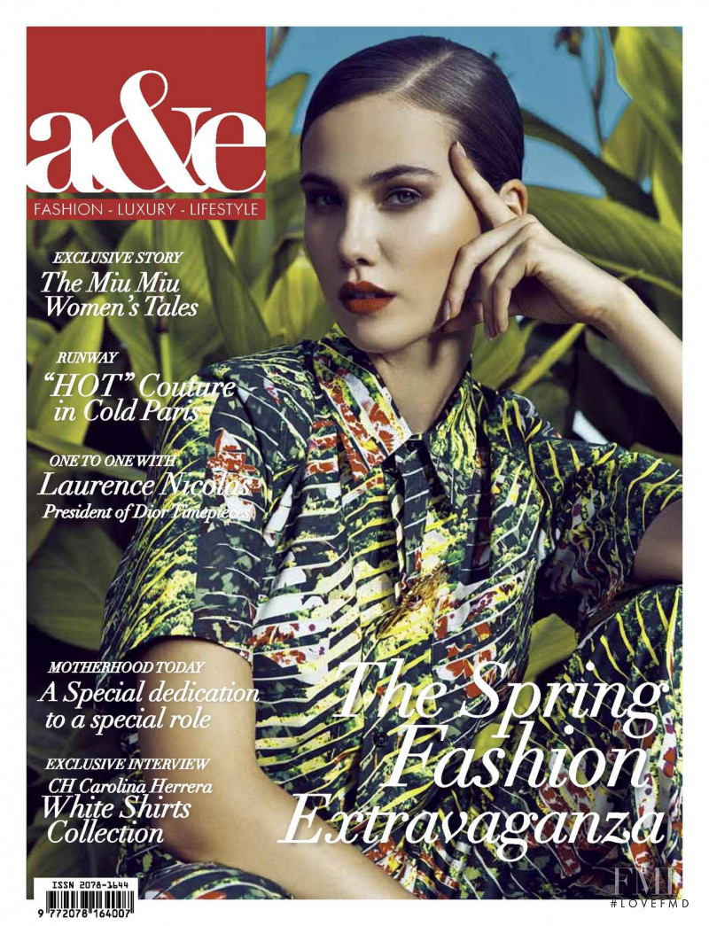 Iga D.  featured on the a&e cover from March 2013