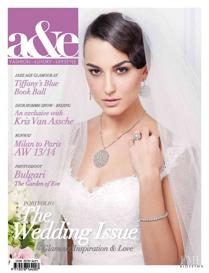 Alessandra featured on the a&e cover from May 2013