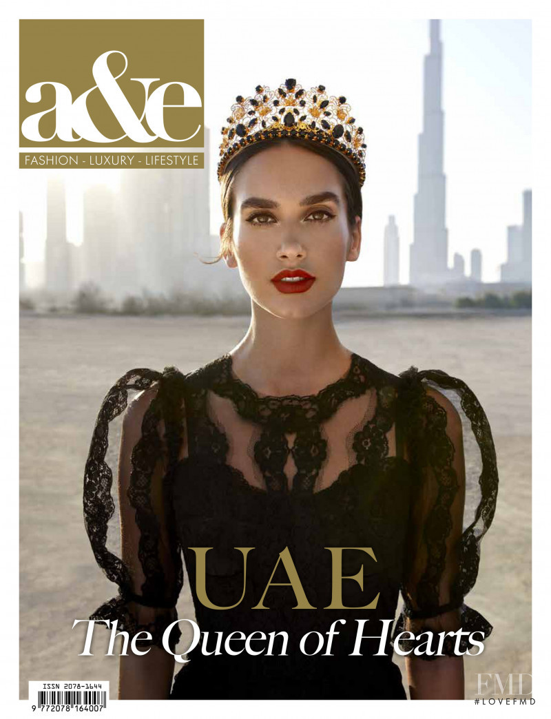 Andjela featured on the a&e cover from December 2017