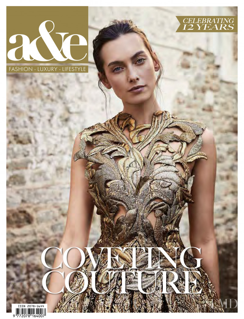 Morven Macsween featured on the a&e cover from September 2018