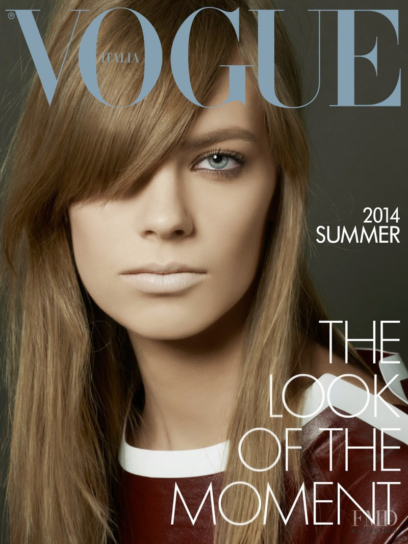 Lexi Boling featured on the Vogue Italy cover from May 2014