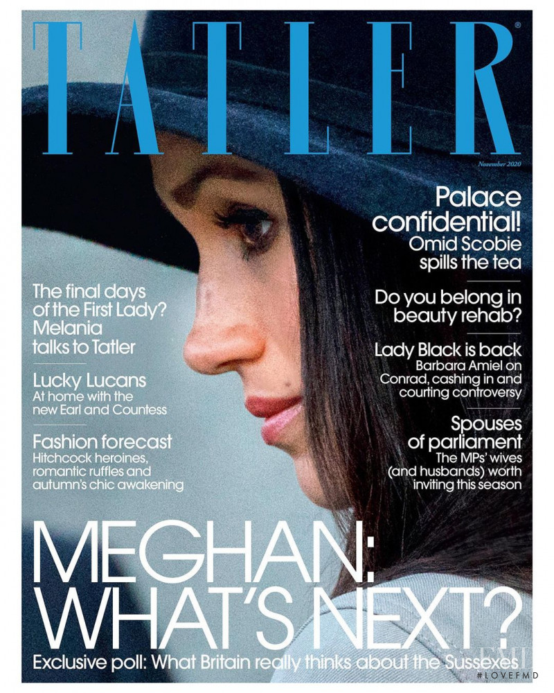 Meghan Markle featured on the Tatler UK cover from November 2020