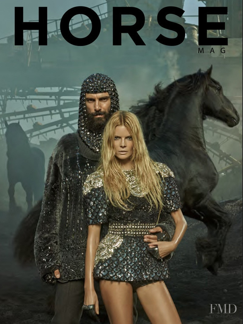 Paraskevas Boubourakas featured on the Horse cover from January 2015