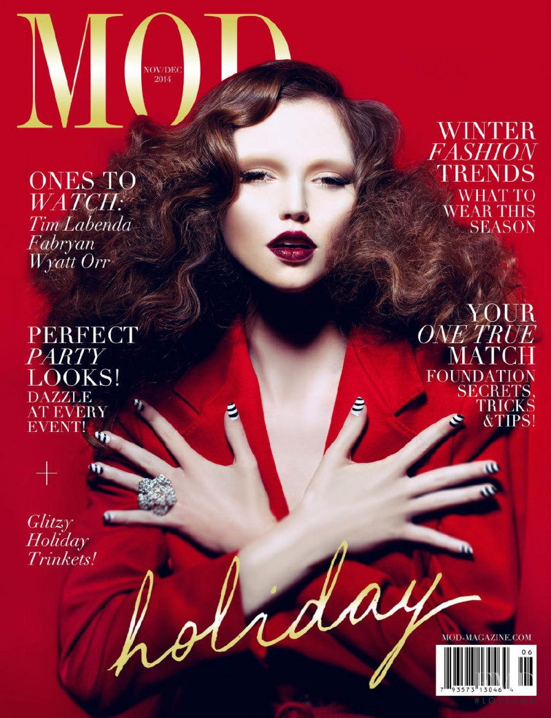 Leanne H.  featured on the MOD cover from November 2014