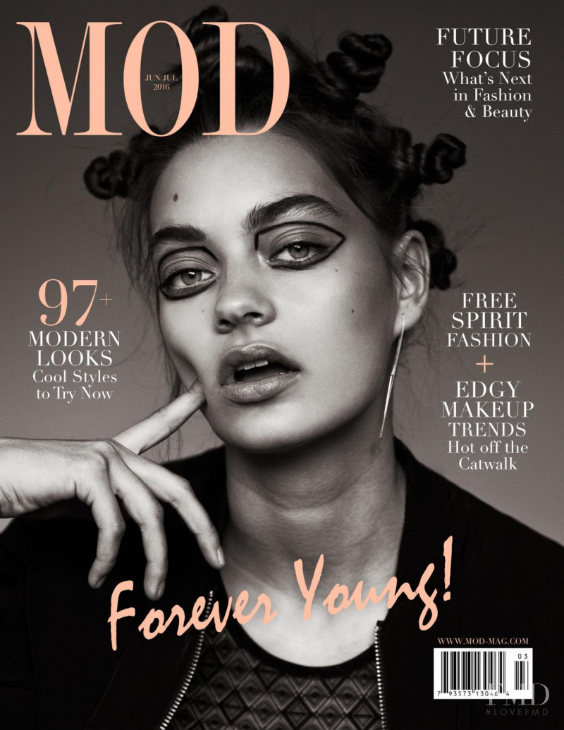 Isa featured on the MOD cover from June 2016